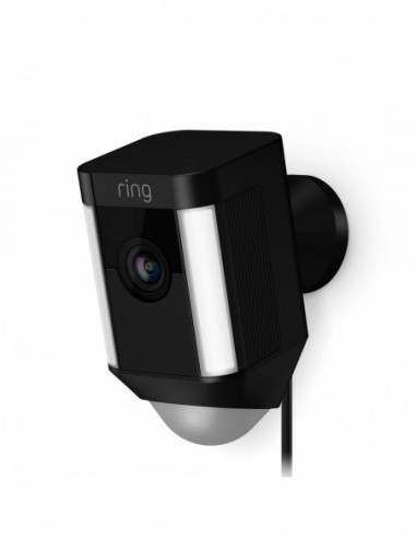 Ring Hardwired Spotlight Cam - Black