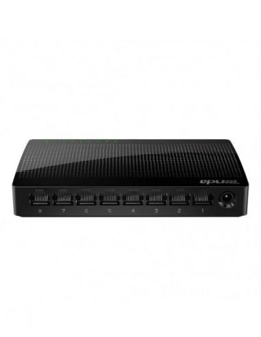 Tenda 8-Port Gigabit Ethernet Desktop...
