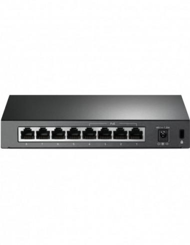 TP-Link 8 Port 10/100 Desktop PoE...