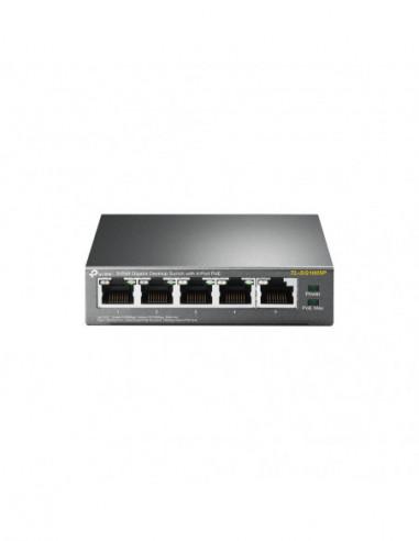 TP-Link 5 Port Gigabit Desktop PoE...