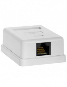 CAT6 Wall Box - Single RJ45
