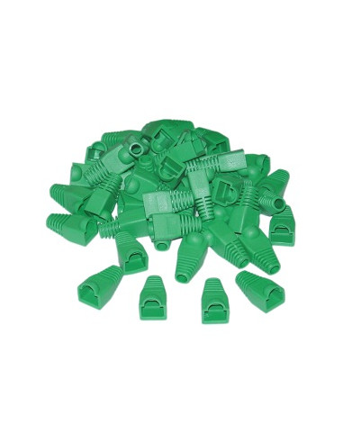 Acconet RJ45 Connector Boots, Green,...