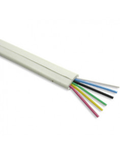 2-pair-ivory-flat-modular-cable-for-rj11-connectors-4-wire