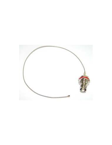 UFL to TNC(F)RP 30cm Pigtail, RG174