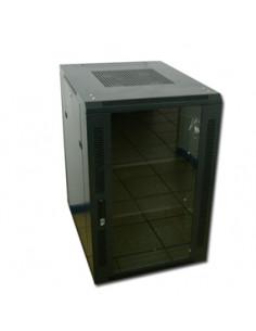 acconet-18u-19-assembled-rack-800mm-deep-black-clear-glass-door-with-lock-4-220v-fans-2shelves