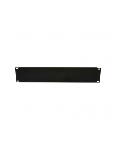 acconet-blanking-plate-2u-black