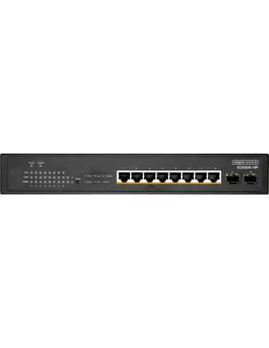 Edge-Core 10 Port Gb Websmart PoE Switch
