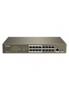 tenda-16-port-ethernet-switch-with-16-port-poe-tef1118p-16-150w