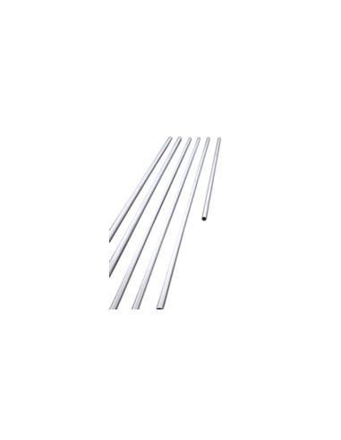 50mm Aluminium Pole - 6m - 5mm Sidewall
