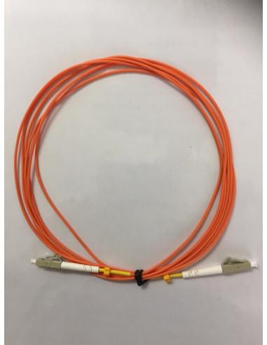 Fibre Patch Lead, LC/UPC to LC/UPC