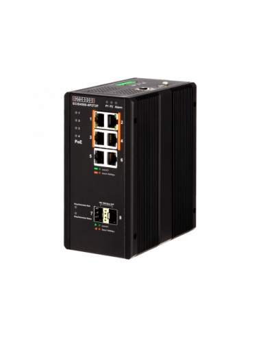 Edge-Core 4 Port Gb PoE+ Industrial...