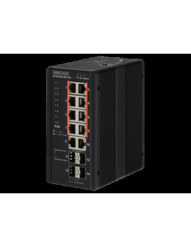 Edge-Core 8 Port Gb PoE+ Industrial...