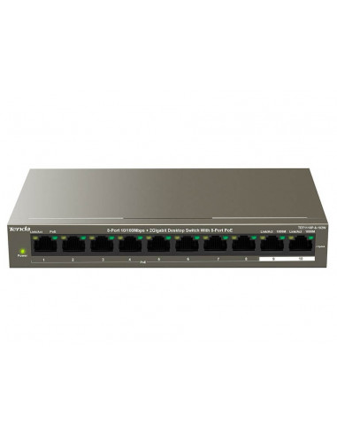 Tenda 10-Port Ethernet Switch with...