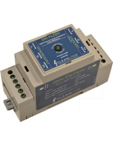 Inline DIN Surge Filter Protector