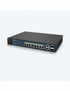 engenius-8-port-poe-switch-2-sfp-1u-rm-130w-poe-at-af-support