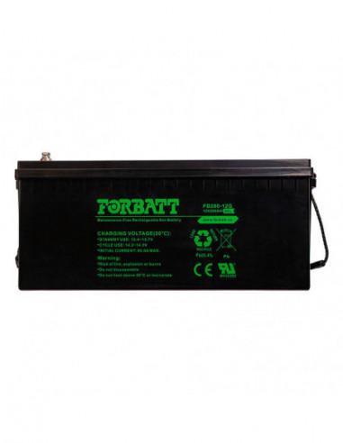12V 200AH Sealed GEL Battery