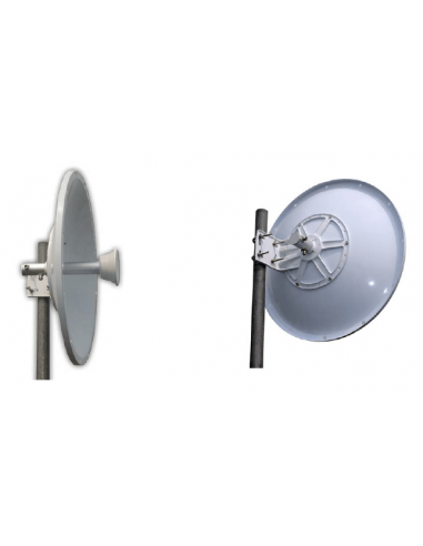 5.8GHz -Parabolic Dish - 30dBi - Dual...