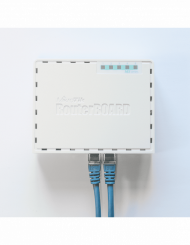 MikroTik hEX - Desktop Router with 5...