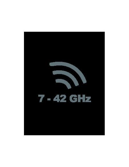 7 GHz to 42 GHz