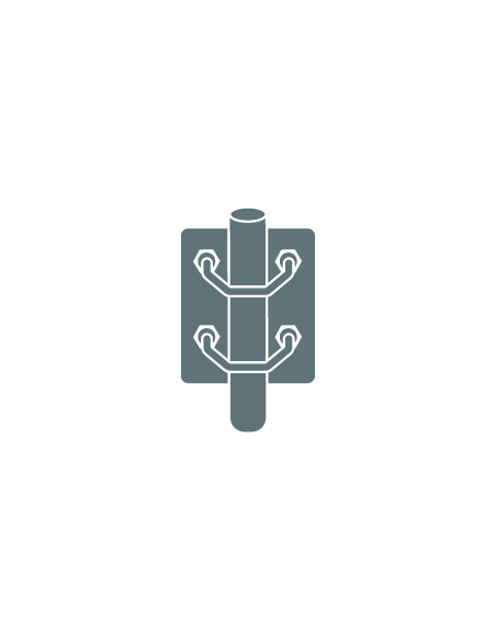 Aluminium Poles & Brackets