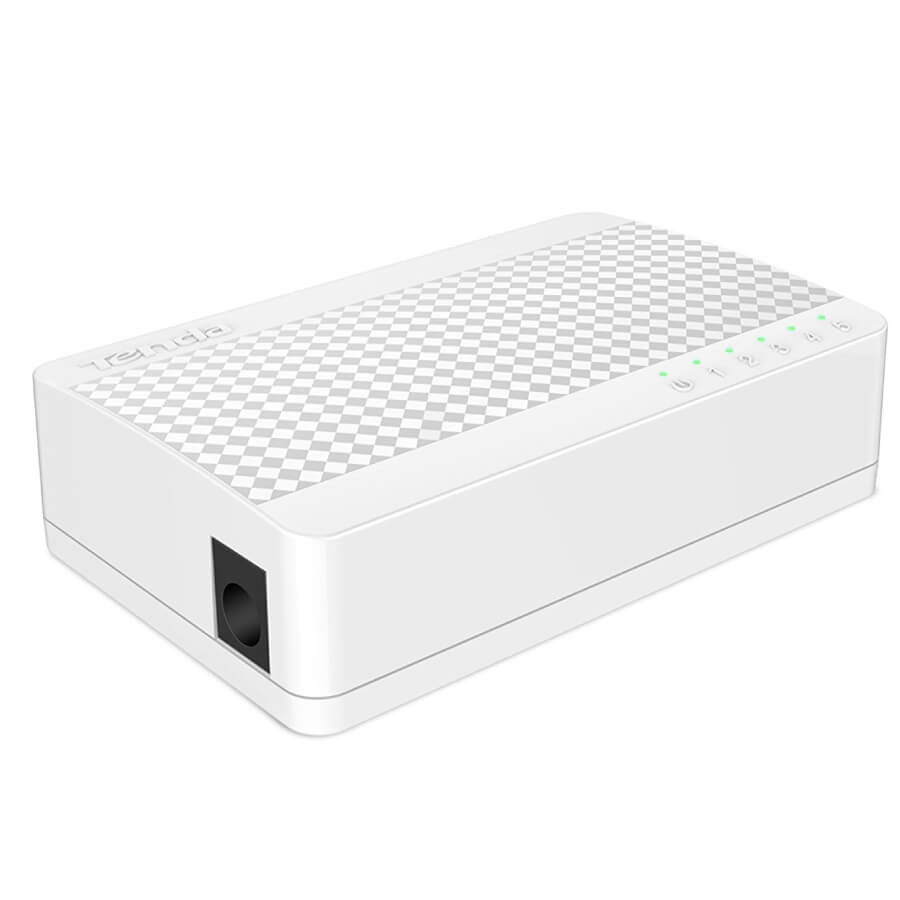 Tenda 5-Port Fast Ethernet Switch | S105