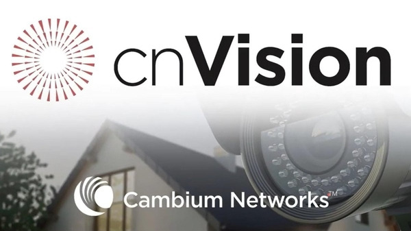 Cambium Network's Introduces cnVision: The world's first ONVIF compliant wireless solution for cameras